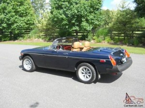 The 1979 MGB, a fun vehicle.   Car-from-UK.com Photo