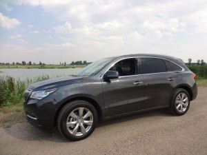 The 2015 Acura MDX is luxurious competitor of the Audi Q7. (Bud Wells photos)