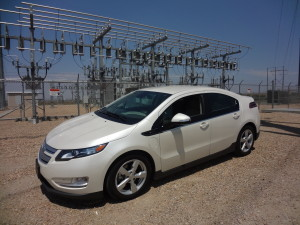 2014 Chevrolet Volt is extended-range plug-in electric model. (Bud Wells photo)