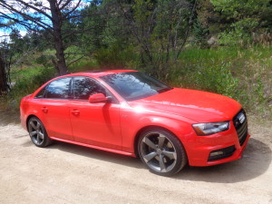 The 2014 Audi S4 quattro in Boulder Canyon. (Bud Wells photos)