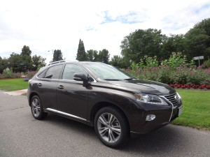 The 2015 Lexus RX350 at City Park in Denver. (Bud Wells photos)