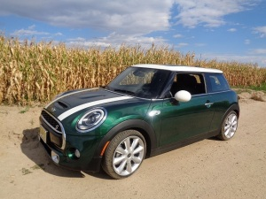 The 2014 Mini Cooper S hardtop on a fall afternoon. (Bud Wells photos)