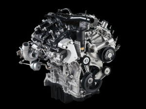 Ford's new turbocharged 2.7-liter V-6 for its F-150. (Ford)