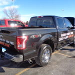 Bud drives aluminum-bodied F-150