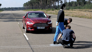 Ford, and other makers, respond to surge in car/pedestrian accidents. (Ford)