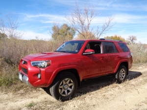 The 2015 Toyota 4Runner Trail 4X4 is at home in offroad settings. (Bud Wells photos)