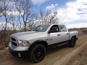 3.0-liter EcoDiesel V-6 adds strong torque to 2014 Ram 1500 Crew Cab.