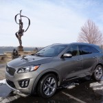 Kia 1st to show '16 model, the Sorento