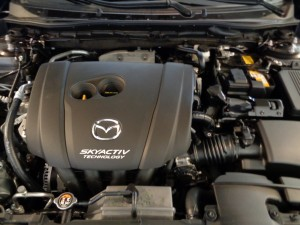 Power is from a 2.5-liter, 4-cylinder engine.