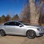 Supercharged, turbocharged Volvo S60