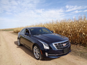 Crisp lines of the 2016 ATS sedan identify it as a Cadillac. (Bud Wells photo)