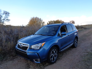 Turbo and EyeSight are part of the 2016 Subaru Forester XT Touring crossover. (Bud Wells photo)