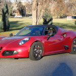 Alfa Romeo returns with 4C Spider