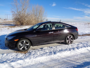 Improved styling and excellent performance lend support to 2016 Honda Civic. (Bud Wells photo)