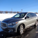 Big, roomy Infiniti QX60 good in the snow