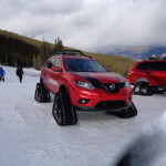 Nissan tracks Winter Warriors