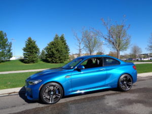 The coupe is the smallest of BMW's M offerings. (Bud Wells photo)