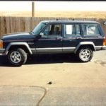 Back then . . . . '91 Jeep Cherokee
