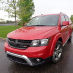 Dodge Journey in middle of crossovers
