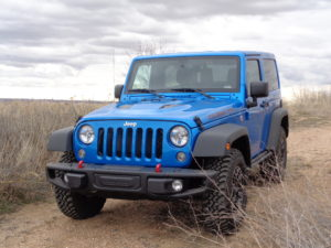 2016 Jeep Wrangler Rubicon Hard Rock looks ready for offroad duty. (Bud Wells)