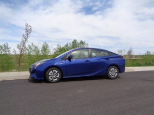 The 2016 Toyota Prius Two Eco is 3 inches longer in overall length than last year.