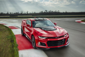 The 2017 Camaro 50th anniversary models will include the ZL1. (Chevrolet)