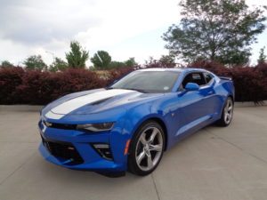 The 2016 Chevy Camaro SS Coupe. (Bud Wells photo)