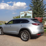 Mazda CX-9 visits bison ranch