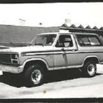 Back then . . . . .1981 Ford Bronco