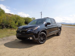 Smooth-operating Honda Ridgeline shows a bit tougher stance.