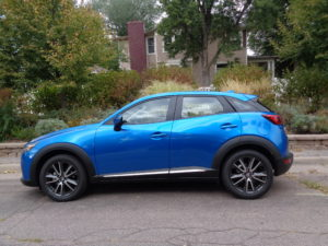 The 2017 Mazda CX-3 AWD weighs just under 3,000 pounds. (Bud Wells)