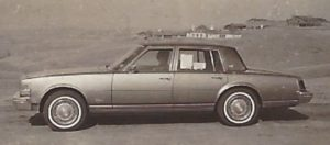 The '78 Cadillac Seville was reviewed in the Denver Post in March 1978. (Bud Wells photo)