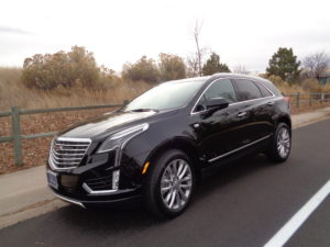 The 2017 Cadillac XT5 3.6L Platinum crossover. (Bud Wells photo)