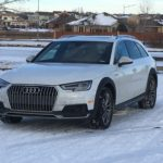 Audi allroad wagon grips snow reputation