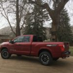 V-8 drives Nissan Titan westward