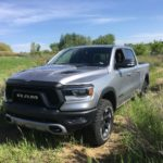 '19 Ram Rebel rolls in rain, Rist
