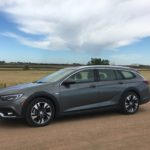 A wagon emerges, this one from Buick