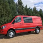 Mercedes offers 4X4 Crew Van
