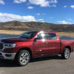 2019 Ram tests snow in drive to Montrose
