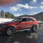 Mercedes, Lexus compact SUVs test snow