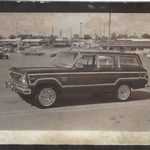 Back then . . . . . '78 Jeep Wagoneer