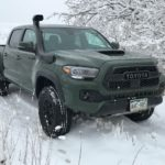 Tuned suspension aids grip of Toyota Tacoma